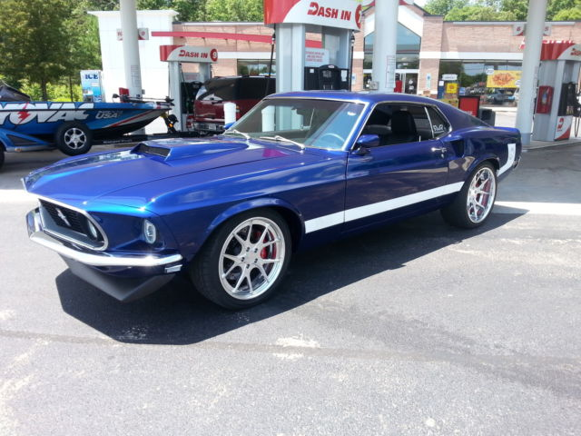 Seller Of Classic Cars 1969 Ford Mustang Deep Impact