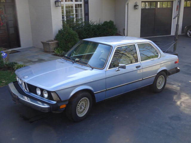 1977 BMW 3-Series (Blue/Blue)