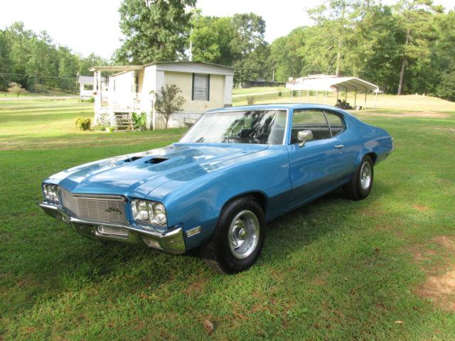 Seller of Classic Cars - 1971 Buick Skylark (BLUE/BLACK)