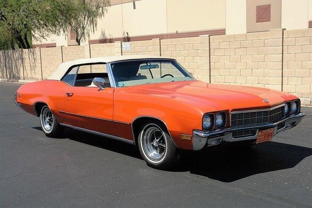 seller of classic cars 1972 buick skylark orange white. Black Bedroom Furniture Sets. Home Design Ideas