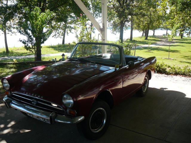 1965 Sunbeam TIGER (Burgundy/Black)