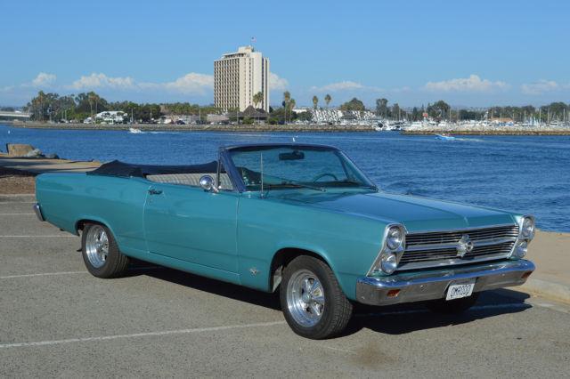 1966 Ford Fairlane Tahoe Turquoise Custom Black
