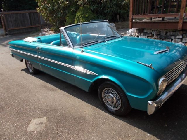 Seller of Classic Cars - 1963 Ford Falcon (Turquoise/Turquoise)