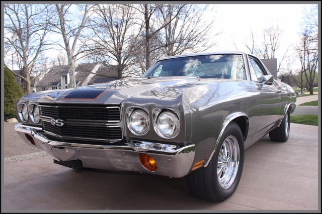 1970 Chevrolet El Camino (Gray/Black)