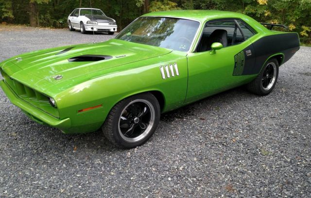 1971 Plymouth Barracuda (Green/Black)
