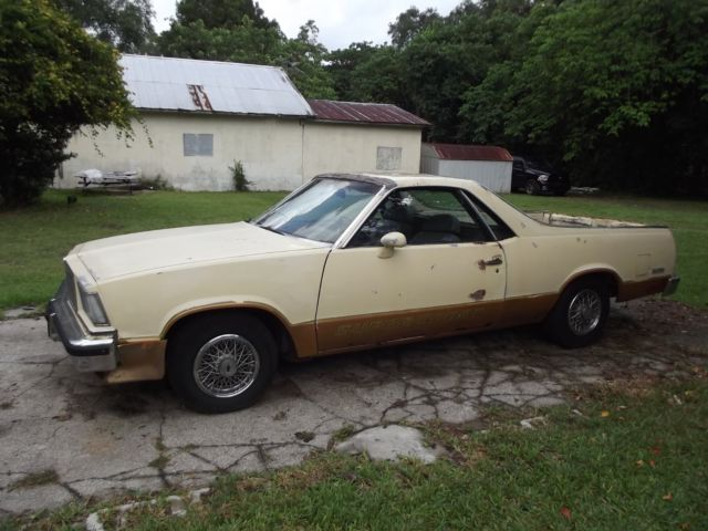1978 Chevrolet El Camino (Tan/Brown)