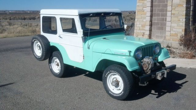1965 Jeep CJ (Green/Red)