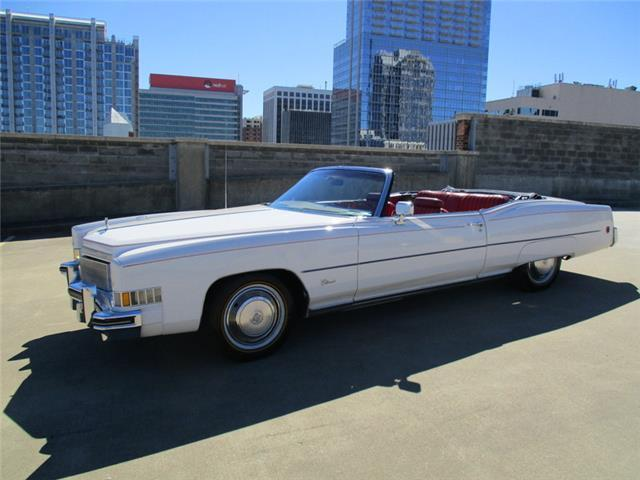 1973 Cadillac Eldorado (White/Red)