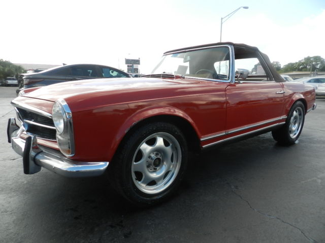 1967 Mercedes-Benz 230SL (RED/TAN LEATHER)