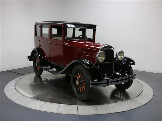 1929 Plymouth Sedan (Burgandy/Tan)