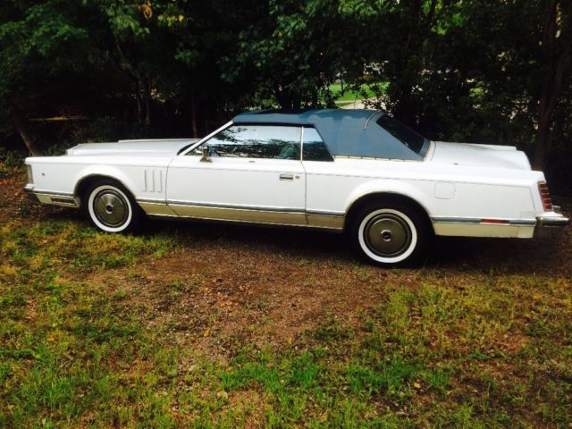 1978 Lincoln Mark Series (White/Blue)