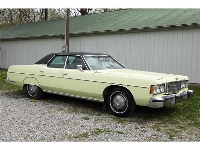 Seller Of Classic Cars 1974 Mercury Monterey Yellow Green