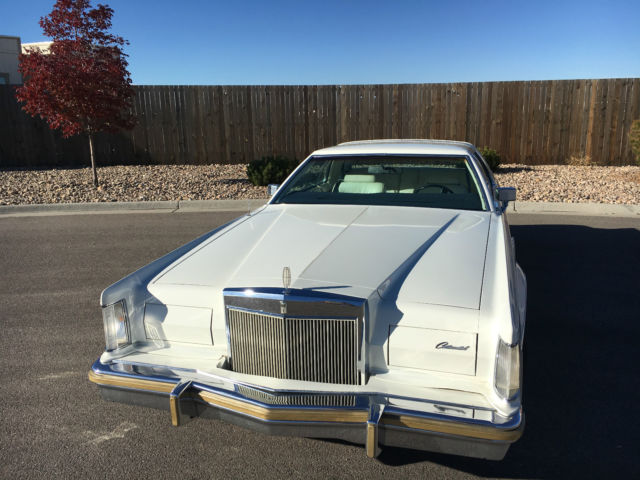 1979 Lincoln Mark Series (white/white)