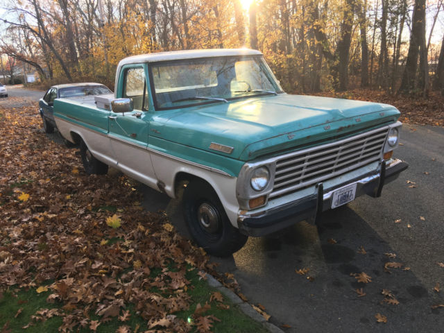Seller of Classic Cars - 1967 Ford F-100 (Lunar Green ...