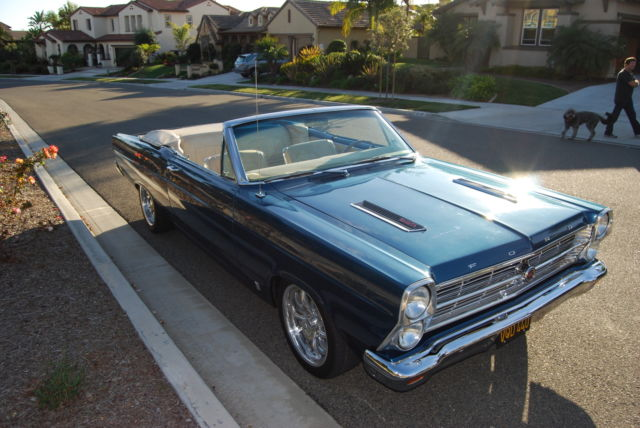 1966 Ford Fairlane (Factory custom ordered Twilight Turquoise/Parchment)
