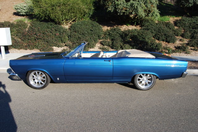1966 Ford Fairlane Factory Custom Ordered Twilight Turquoise Parchment
