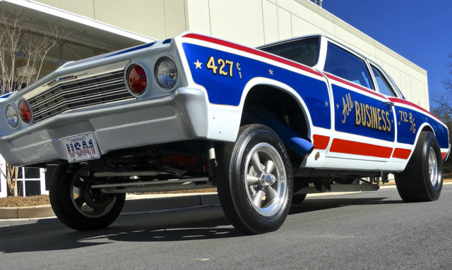 seller of classic cars 1967 chevrolet chevelle red white and blue vintage gasser theme. Black Bedroom Furniture Sets. Home Design Ideas