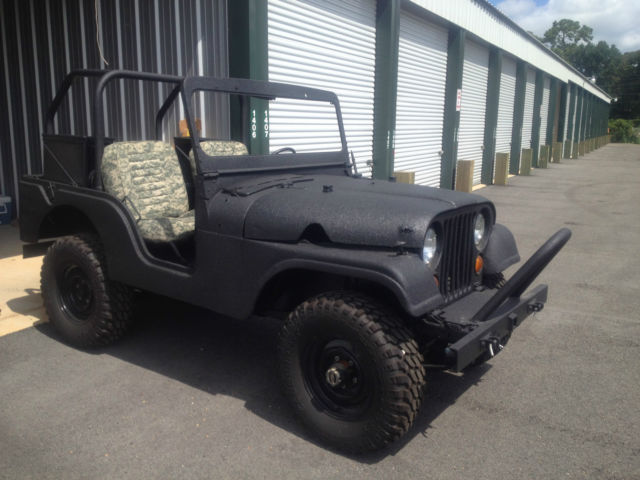 1955 Willys M38 A1 Jeep (Black/Black)
