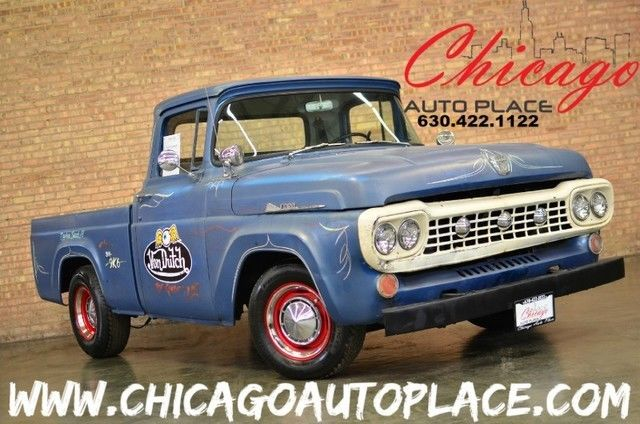 1958 Ford F-100 (Blue/Gray)