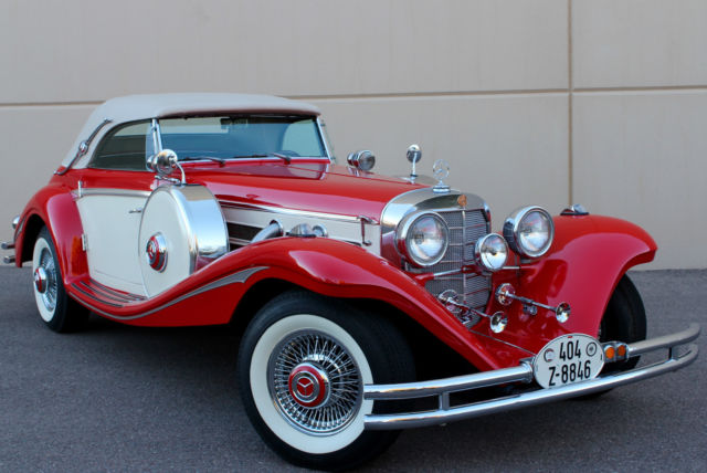 on 1936 Mercedes Benz 540k