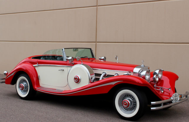 Seller of classic cars 1936 replica kit makes mercedes for 1936 mercedes benz 540k replica