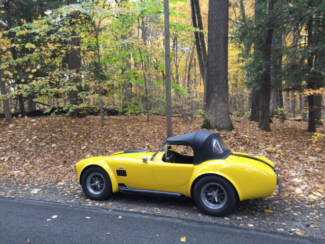 1967 Replica/Kit Makes Cobra (Yellow/Black)