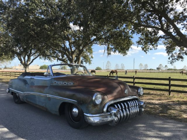 1950 Buick Roadmaster (Brown (patina)/Brown (new leather))