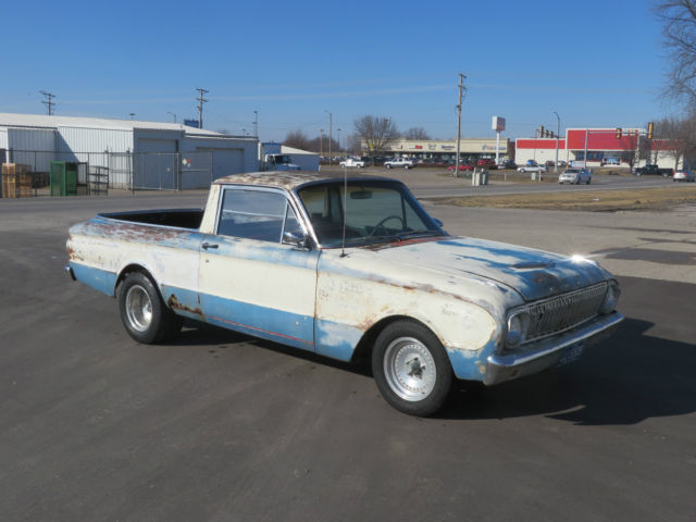 1963 Ford Ranchero (Blue/Black)