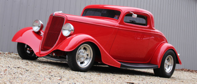 1934 Ford Coupe, 3 Window