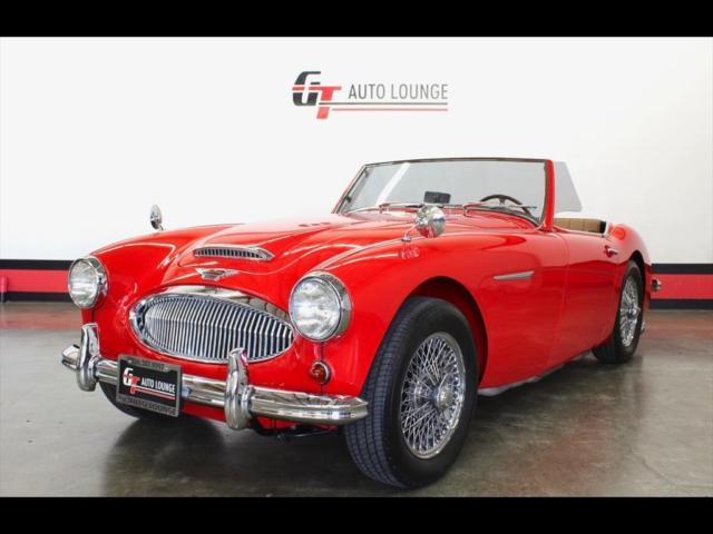 1962 Austin Healey 3000 (Red/Tan)