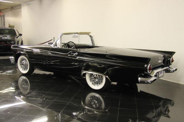 Seller Of Classic Cars 1957 Ford Thunderbird Raven