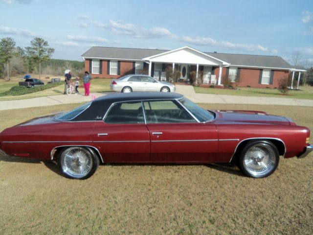 Four Door Convertible >> Seller of Classic Cars - 1972 Chevrolet Impala (Maroon/Black)