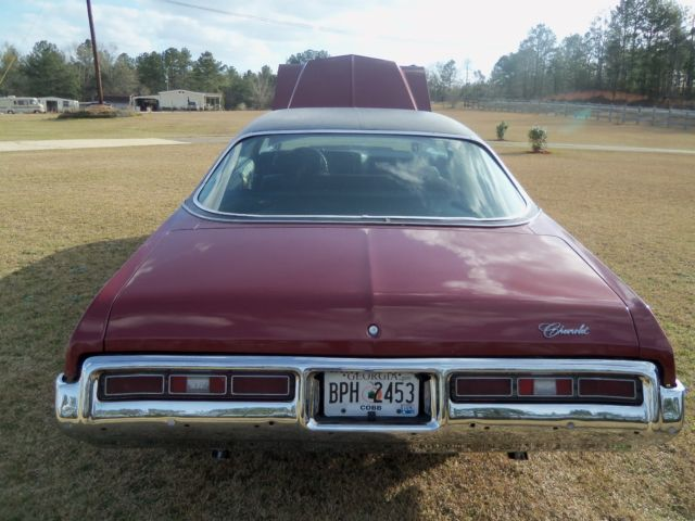 seller of classic cars 1972 chevrolet impala maroonblack