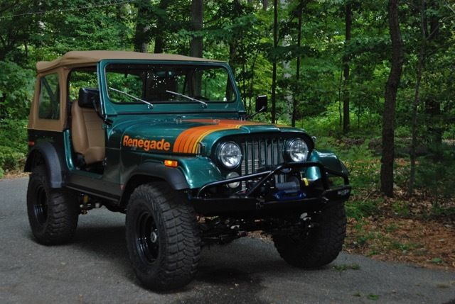 Seller of Classic Cars - 1979 Jeep Renegade (Loden (Forest ...