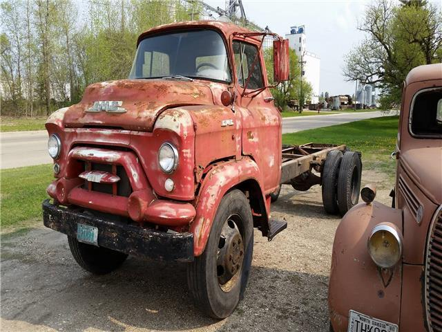 1956 GMC COE (Red/--)