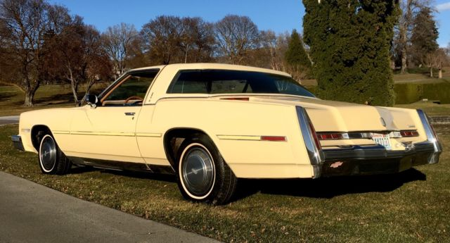 1978 Oldsmobile Toronado (yellow/brown)