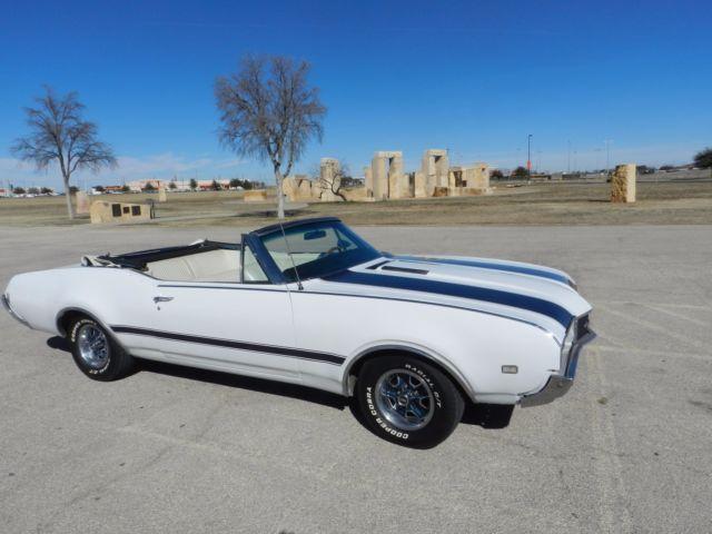 Seller Of Classic Cars 1968 Oldsmobile Cutlass White White