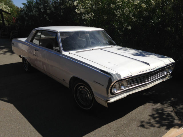1964 Chevrolet Malibu (White/Black)