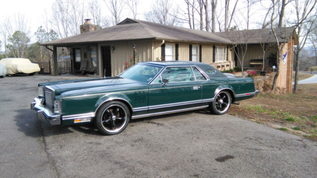 1978 Lincoln Mark Series (DARK JADE/TWO TONE JADE LEATHER)