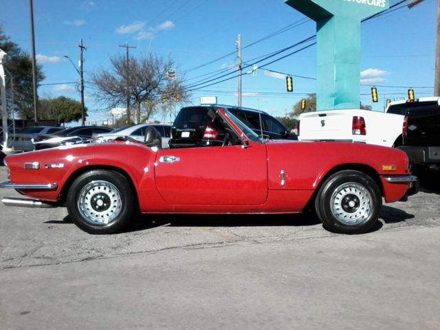 1971 Triumph Spitfire (Red/Black)