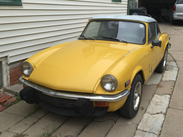 1979 Triumph Spitfire (Inca Yelllow/Black)