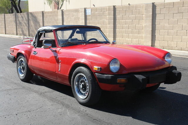 1979 Triumph Spitfire (Red/Gray)