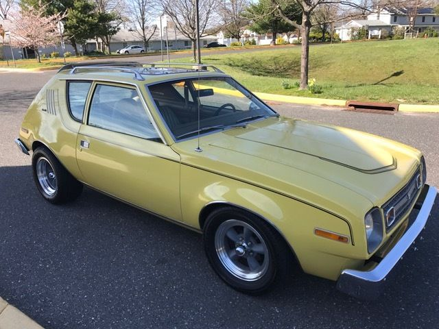 1978 AMC Gremlin (YELLOW/TAN)