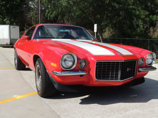 Seller Of Classic Cars 1970 Chevrolet Camaro Red W