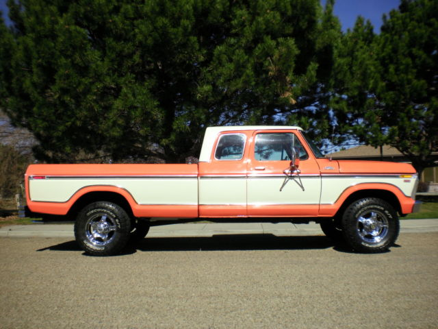 1978 Ford F-250 (Orange/Tan)