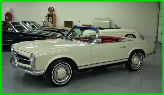 1965 Mercedes-Benz SL-Class (Other Color/Red)