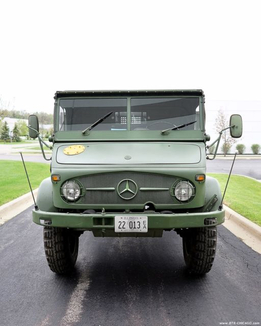 Seller of Classic Cars - Tag UNIMOG