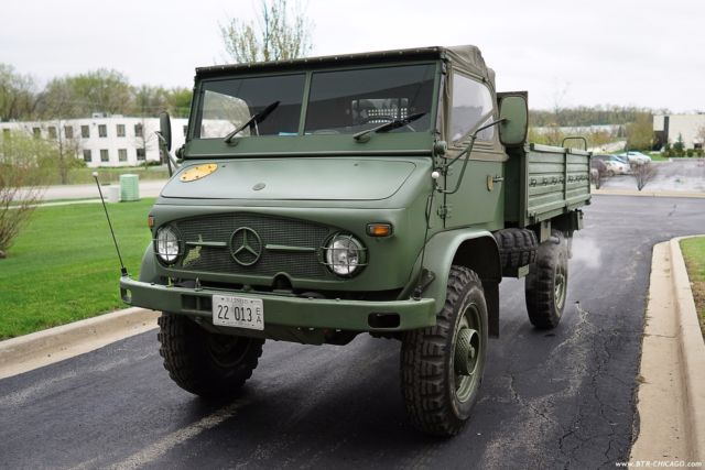 Seller of Classic Cars - 1967 Mercedes-Benz UNIMOG (Green ...