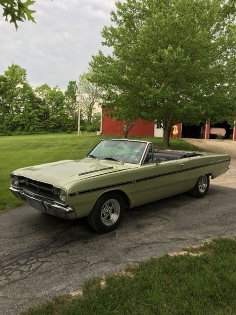 1968 Dodge Dart (Green/Black)