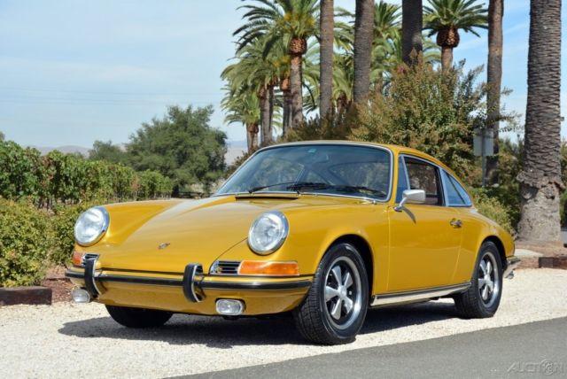 Seller Of Classic Cars 1972 Porsche 911 Gold Brown
